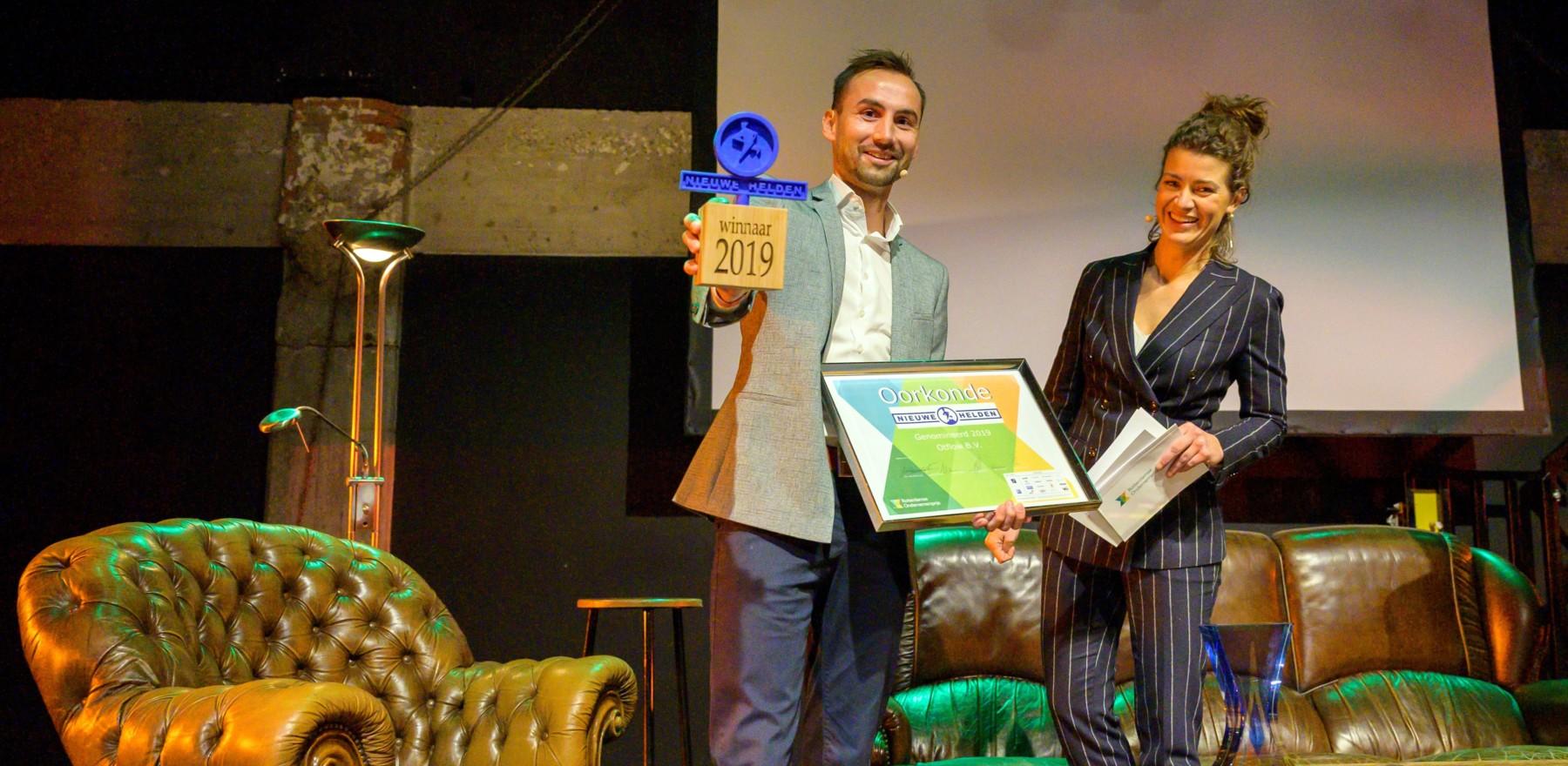 Otflow wint De Nieuwe Heldenprijs